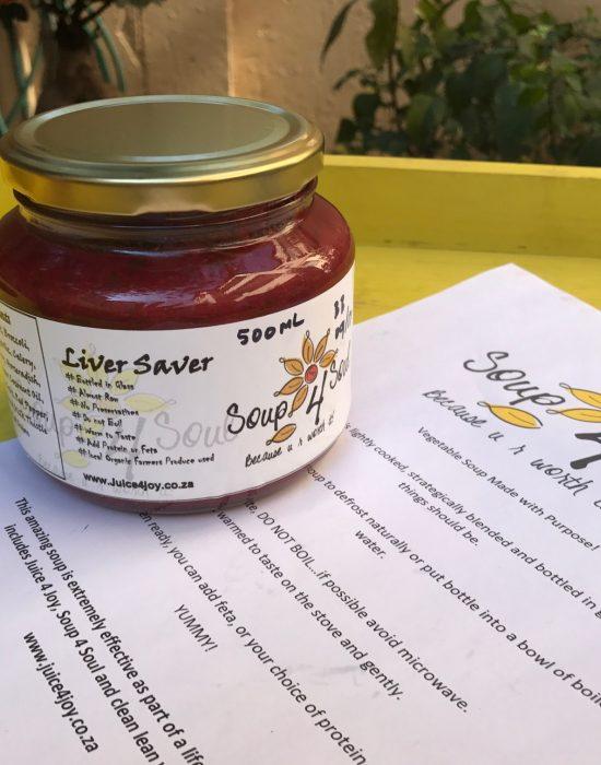 Liver Saver Soup_Fresh healthy soup for the liver
